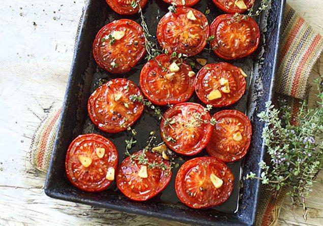 3. Pişmiş domates