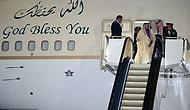 Bozulan Yürüyen Altın Merdivenden Kendi Çabalarıyla İnen Suudi Kral