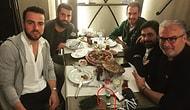 Volkan Demirel ve Melih Mahmutoğlu'nun İçtikleri Rakıyı Gizlemesi Dikkatli Gözlerden Kaçmadı