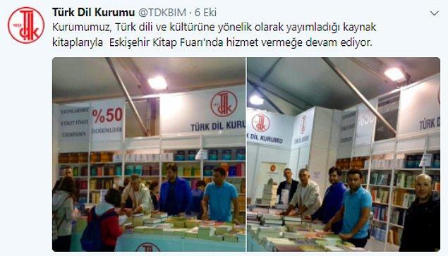 Kurumun Twitter hesabından da yakın zamanda başka bir hata daha yapılmıştı.