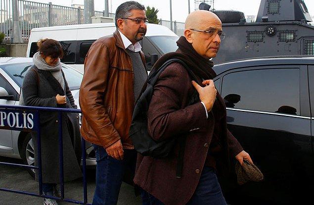 Enis Berberoğlu'nun tutukluluk halinin ise devam ettiği belirtildi.