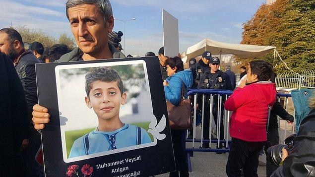 10 Ekim Ankara Katliamı'nın en küçük kurbanı Veysel Atılgan, yaşasaydı 29 Eylül'de 10 yaşına girecekti...