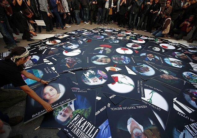 Resmi rakamlara göre 67 kişi olay yerinde, 35 kişi ise sevk edildiği hastanelerde yaşamını kaybetti. Yüzlerce kişi yaralandı.