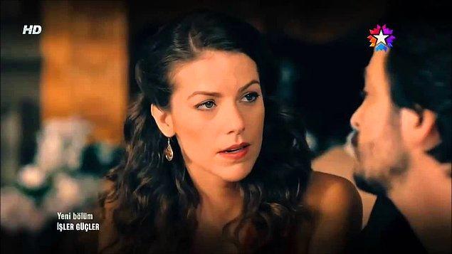 """6. Güzeller güzeli doktor, Ahmet'in hayran olduğu ancak ilk bölümlerde kendisine """"kardeşim gibisin"""" diyerek bizi üzmüş, sonradan sevgilisi olmuş olan Feride!"""