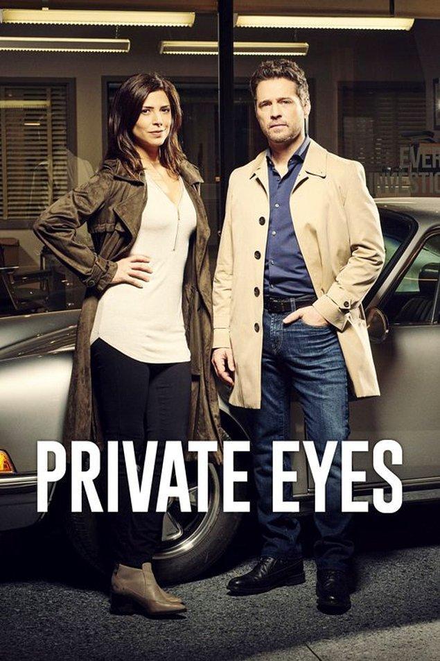 Private Eyes ile dizi kariyerine devam etti.
