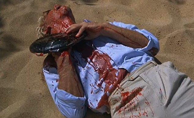 1987 yapımı Hard Ticket to Hawaii'de frizbiyle dramatik bir şekilde ölen oyuncu da gözlerden kaçmamıştı.