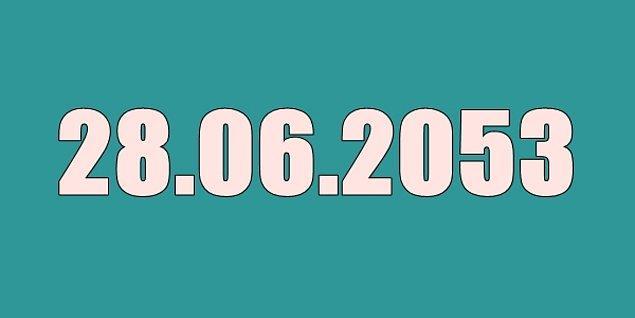 26 Haziran 2053'te emekli olacaksın!