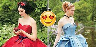 Tasarımlarıyla İçimizi Açan Disney Gelinlikleri Bütün Kadınları Masal Dünyasına Sürükleyecek!