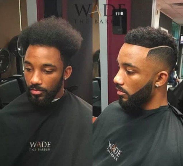 1. Meğer tek ihtiyacı basit bir saç kesimiymiş. 👍