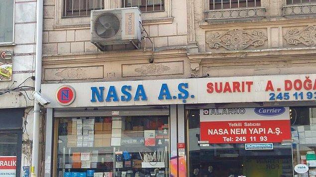 8. Nasa'nın Türk şubesi