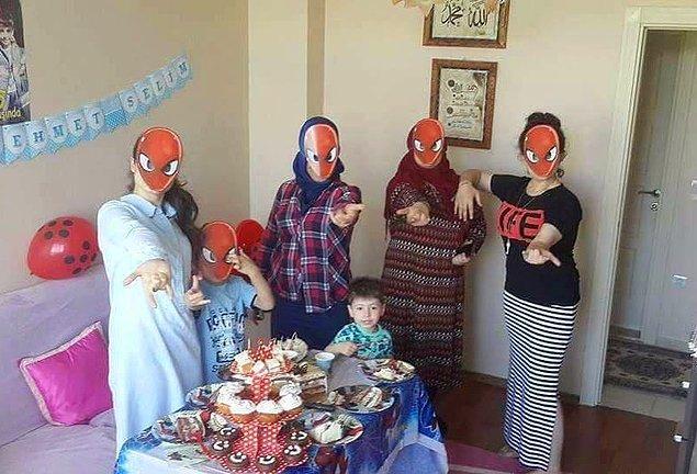 12. Spidey'nin yasaklanan doğum günü