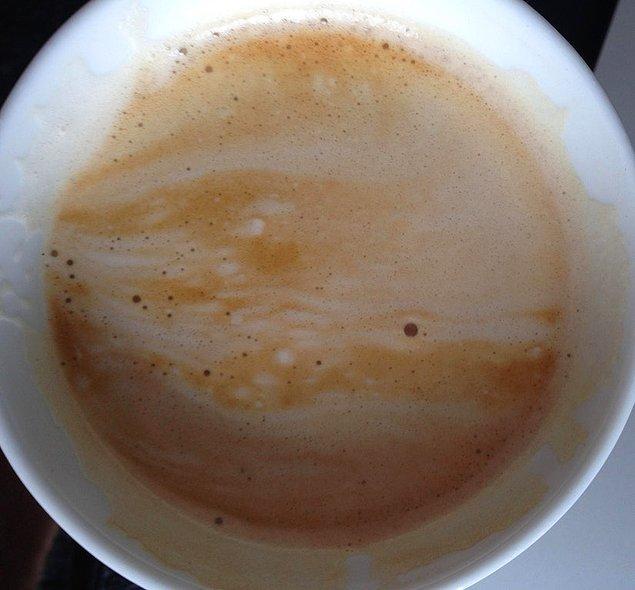 Jüpiter'i andıran bu kahve