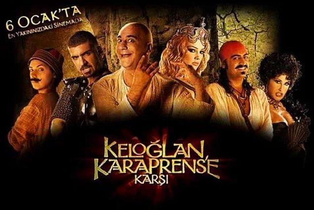 4. Keloğlan Kara Prens'e Karşı (IMDb Puanı: 1,8)