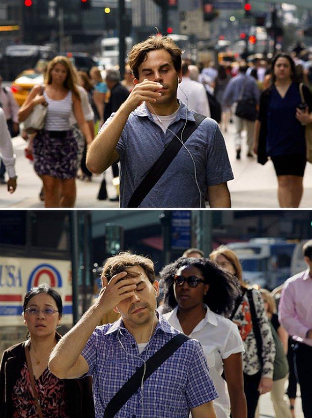 7. 'Bu durum New York'u çok güzel anlatıyor. İnsanlar aynı şeyi tekrar tekrar yapıyorlar.'