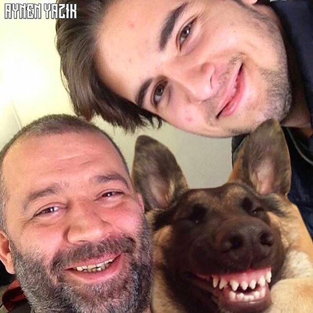 1. Aile selfiesi