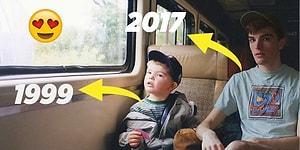 Çocukluk Fotoğraflarını Photoshoplayınca Yıllar Önceki Haliyle Yan Yana Gelen Fotoğrafçı! 😍