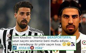 FIFA 18'de Kendini Beğenmeyen Khedira, Sosyal Medya'dan EA Sports'a Sataştı!