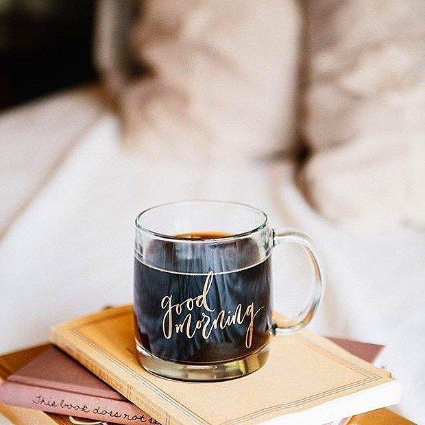 Tabii ki ayılmak için kahve yaparım!