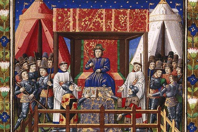 13. Orta Çağ Fransası'nda seks şiirleri çok popülerdi.
