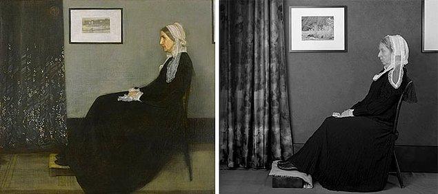 2. Whistler'in Annesi – James Mcneill Whistler