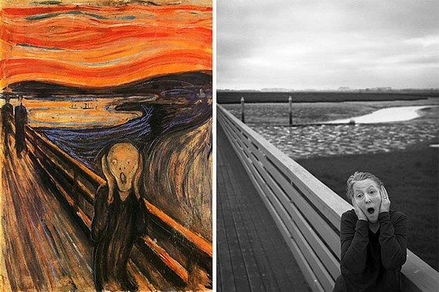 3. Çığlık – Edvard Munch
