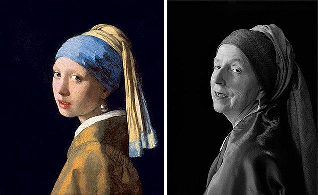 5. İnci küpeli kız – Johannes Vermeer
