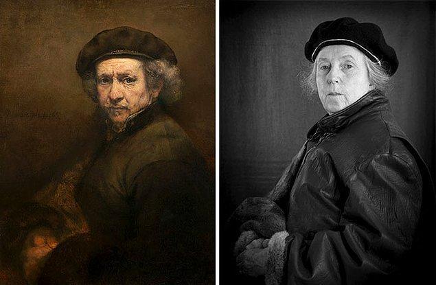 8. Otoportre – Rembrandt