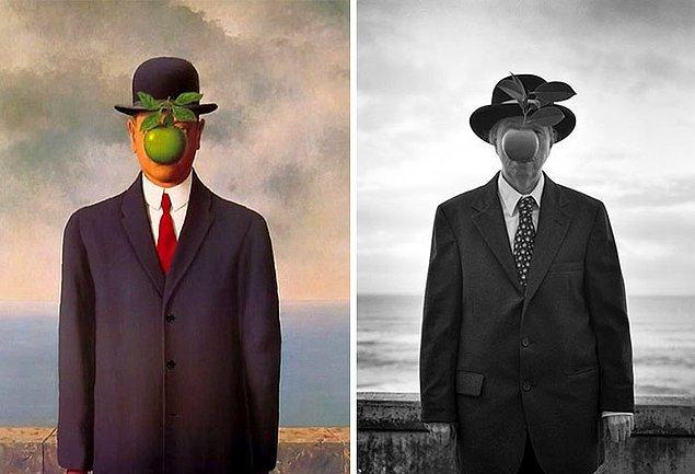 11. İnsanın Oğlu – Rene Magritte