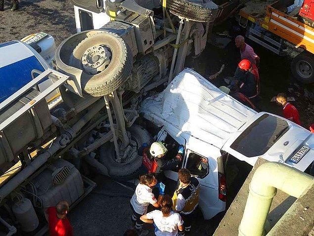 Geçtiğimiz aylarda da bir beton mikseri köprüden düşmüş ve Ergani Özcan'ın ölümüne neden olmuştu.