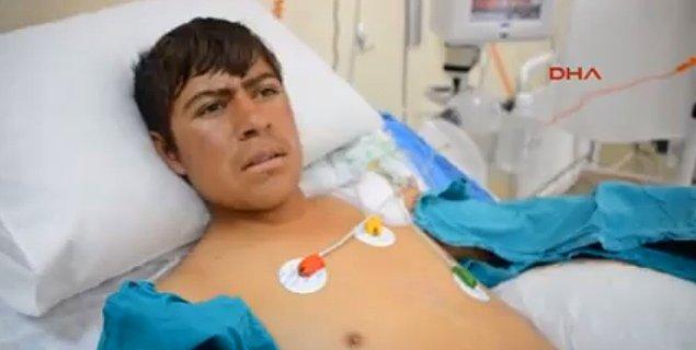 Ağrı'daki ilk müdahalenin ardından Erzurum'a sevk edilen Taşdemir'in ellerinin 3. dereceden yandığı tespit edildi. Doktorlar gencin ellerinin kesileceğini açıkladı.