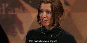 """TED Konuşmasında Elif Şafak'tan İtiraf: """"Biseksüelim Ama Bunu Söyleyecek Cesaretim Olmadı"""""""