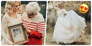 Gözümde Canlanır Koskoca Mazi: Büyükannesinin Gelinliğini 55 Yıl Sonra Giyen Torundan Ağlatan Sürpriz!