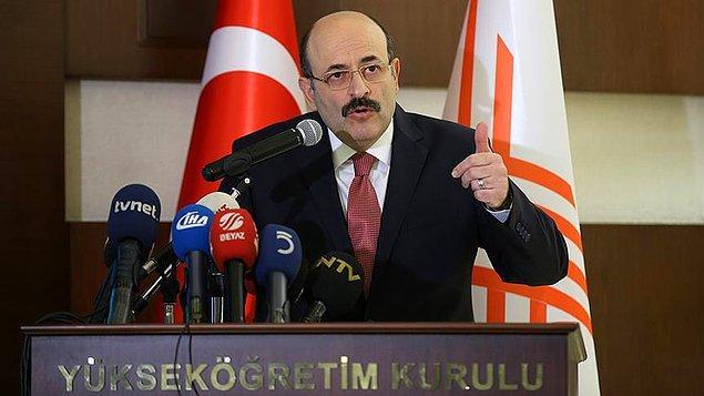 YÖK Başkanı Prof. Dr. Yekta Saraç, üniversiteye girişte yeni sınav sisteminin ayrıntılarını 12 Ekim'de açıklamıştı.
