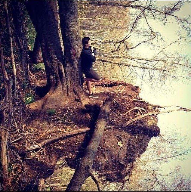 5. Orada bir göl mü var?
