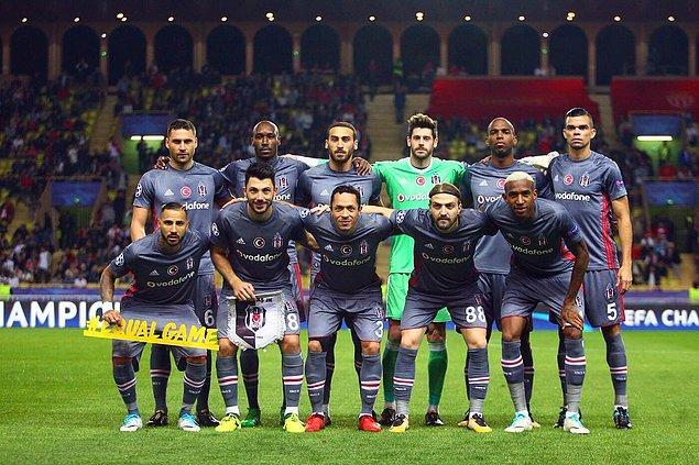 Beşiktaş, Şampiyonlar Ligi gruplarında 3'te 3 yapan ilk Türk takımı oldu.
