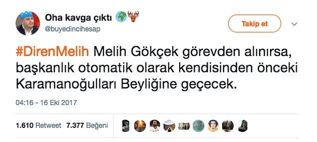 1. Son olarak Melih Gökçek ne zaman Ankara Büyükşehir Belediye Başkanı olmuştur?