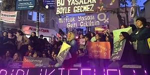 Tasarı Meclis'te, Kadınlar Eylemde: Sosyal Medyadan Yükselen #MüftülükYasasınaHayır Sesi