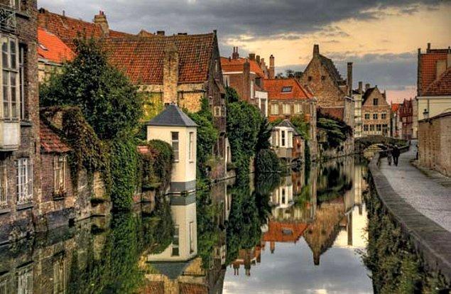Belçika'nın en romantik ve lezzet dolu şehri Brugge!