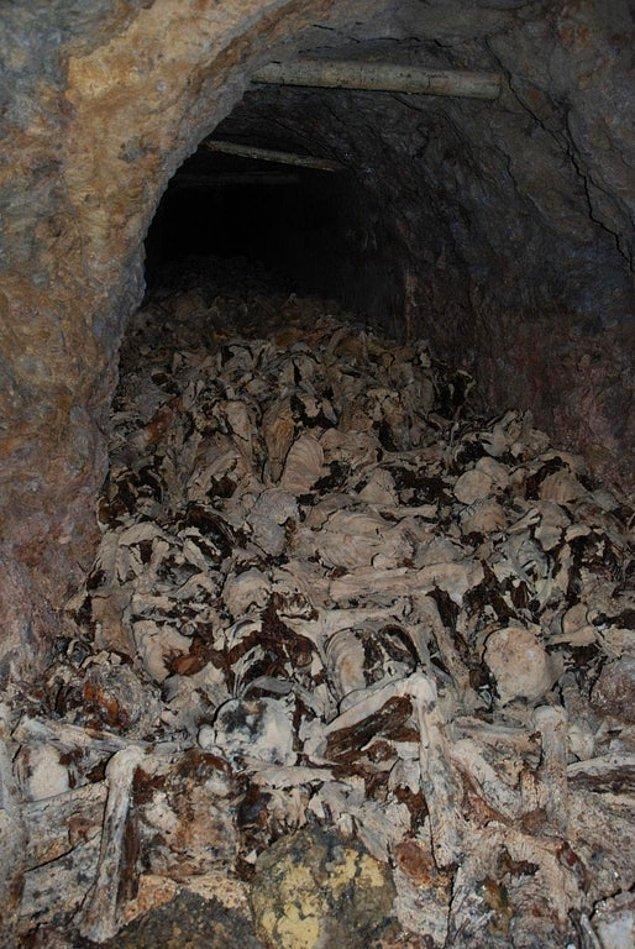 9. Slovenya'da terk edilmiş bir maden! II. Dünya Savaşı'ndan dolayı oluşan insan yığını...
