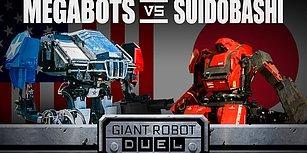 Çelik Yumruklar Filmi Gerçek Oldu! Devasa Robot Dövüşünün Kazananı The MegaBots!
