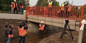Dünyanın 3D Yazıcıyla Yapılan İlk Köprüsü Hollanda'da Açıldı