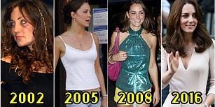 Tüm Dünyanın Hayran Olduğu Kate Middleton'ın Hayretlere Düşürecek Stil Evrimini İnceliyoruz!