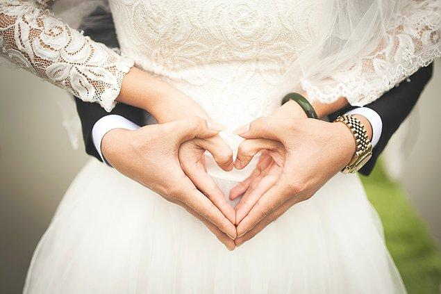 Evliliğe tam anlamıyla hazırsın!