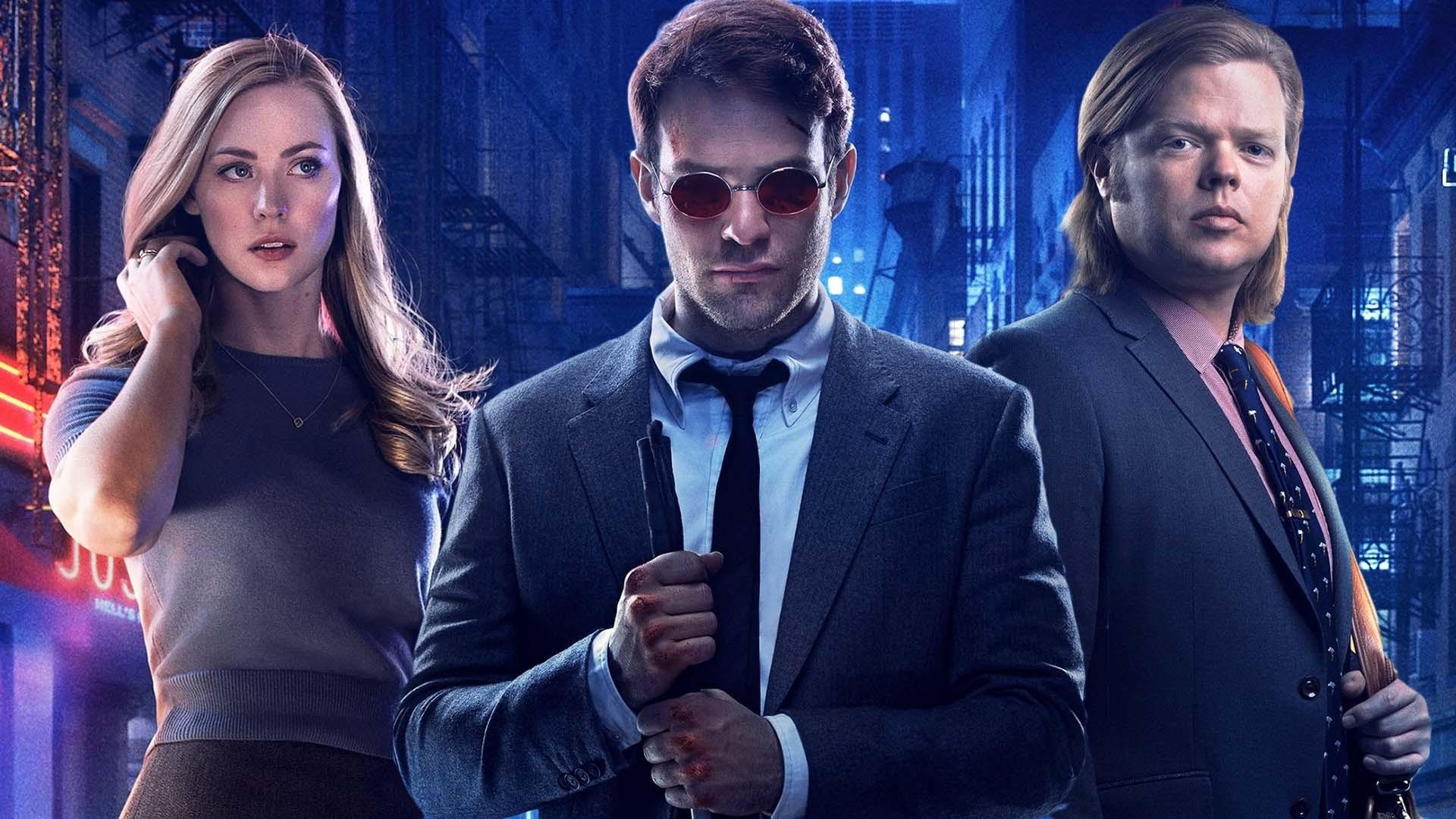 Created by Drew Goddard With Charlie Cox Vincent DOnofrio Deborah Ann Woll Elden Henson A blind lawyer by day vigilante by night Matt Murdock fights the crime