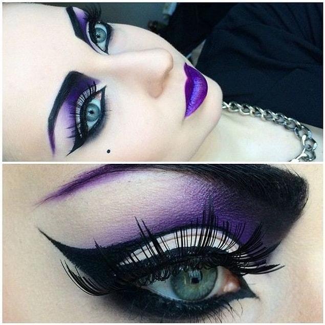 Eyelinerdaki maharetinizi sergileyeceğiniz bu modelle Cadılar Bayramı'nda siz susacaksınız ve gözleriniz konuşacak! ????