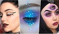 🎃 👻 Cadıları Bayramı'nda Sizi Korku Filmlerinden Fırlamış Gibi Gösterecek 13 Göz Makyajı Önerisi