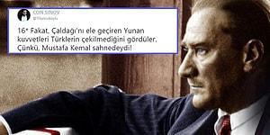 Atatürk'ün, Askerî Dehasıyla Yunan Ordusunu Nasıl Geri Püskürttüğünün Olağanüstü Hikayesi