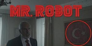 Fenomen Dizi Mr. Robot'un Son Bölümünde Dikkat Çeken Türk Bayrağı ve Atatürk Büstü