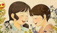 Kız Kardeşiyle Büyüyen Herkesin Anılarını Canlandırıp, Yüreğine Dokunacak İllüstrasyonlar 👭