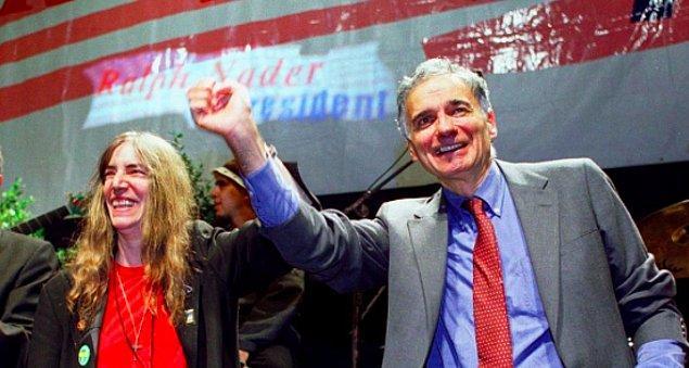 Cumhuriyetçilerin ve demokratların üstünlüğüne rağmen ABD seçimlerinde Yeşiller Hareketi'ni destekledi.